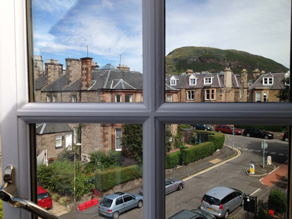 Arthur Seat view from AmarAgua